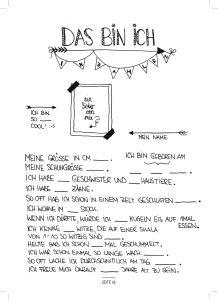 Seite 62 - Steckbrief - Kinderfreunde Freundschaftsbuch