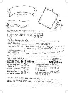 Seite 98 - Steckbrief - Kinderfreunde Freundschaftsbuch